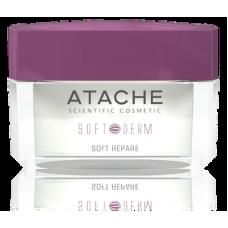 Soft Derm Soft Repare. Ночной восстанавливающий антикуперозный крем.